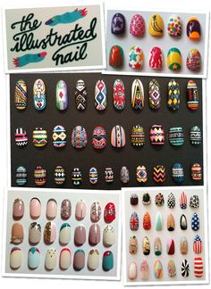 Nail art, Dior, Londres, Harrod's, The Illustrated Nail, Esmalte desenho, diferentes, estampas, unhas tematicas, natal, halloween, valentine's