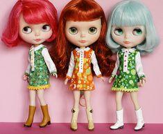 Photo: Tibiloo. The Vainilladolly custom dolls wearing Poohie