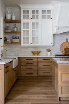 Cute Home Decor Quartersawn white oak kitchen cabinets. Friday Eye Candy - A Thoughtful Place.Cute Home Decor Quartersawn white oak kitchen cabinets. Friday Eye Candy - A Thoughtful Place Küchen Design, Layout Design, Design Ideas, House Design, Design Trends, Design Styles, Floor Design, Design Inspiration, Home Decor Kitchen