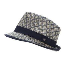 Baker by Ted Baker Boy's navy woven trilby hat- at Debenhams.com