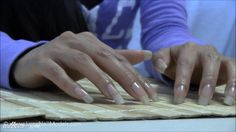 Square long nails