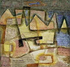Paul Klee - Felsige Küste / Rocky Coast