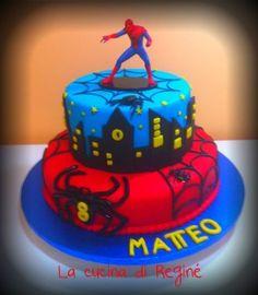 Torta Spiderman in PDZ #La cucina di Reginé#