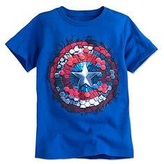 Captain America Shield Tee for Boys | Disney Store