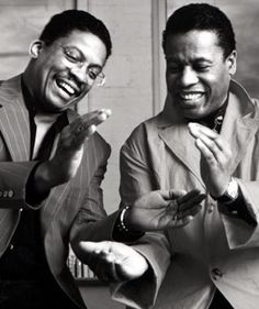Jazz musicians Herbie Hancock and Wayne Shorter, who are both Nicherin Diashonin Buddhists. Jazz Artists, Jazz Musicians, Music Artists, Music Love, My Music, Reggae Music, Wayne Shorter, Jazz Players, All About Jazz