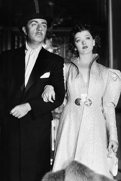 barbarastanwyck:  William Powell and Myrna Loy in After the Thin Man, 1936
