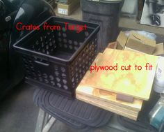Learning Ahoy!!: July 2011- pictures showing the steps for storage seats for the classroom