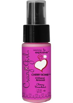 Buy Crazy Girl Cherry Bomb Clitoral Arousal Cream Cherry Knockout 1 Ounce online cheap. SALE! $7.99