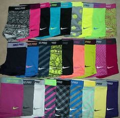 You know that your a volleyball player when you see this as a rainbow.    This is my dream closet