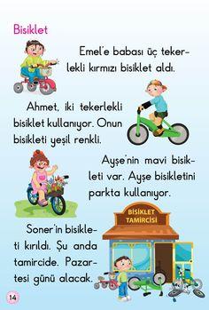 1. Sınıf Konu Anlatım HİKAYELER (OKUMA DİZİSİ) Learn Turkish, Montessori, Education, Math, Comics, Learning, Books, Wings, Manualidades
