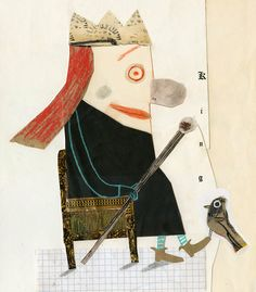 "manon gauthier: Illustration Friday ""King"""