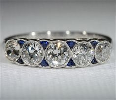 VS Cushion Amethyst Ring Claw Prongs Pave Diamonds 14K White Gold 8mm Wedding…