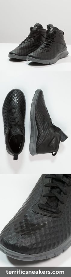 awesome! black nike sneakers