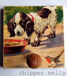 En bois MDF Animal lévrier italien chien formes Bunting Craft Embellissement