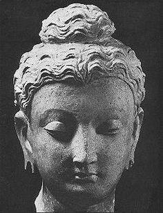 Gandhara head
