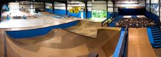 Image result for interior skatepark