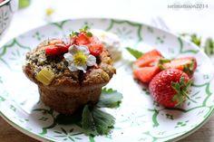 *recipe and photo by Sari Mattsson*  Glutenfree strawberry muffinis