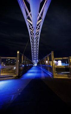 Highland bridge, Denver, Colorado :: Pedestrian bridge