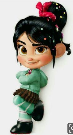 Vanellope von schweetz from wreck it ralph. Disney Pixar, Walt Disney Princesses, Baby Disney, Disney Art, Disney Movies, Wreck It Ralph, Wallpaper Iphone Disney, Cute Disney Wallpaper, Hd Wallpaper