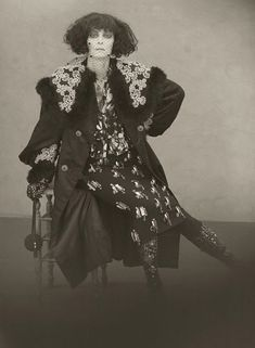 """The Lost Album of Marchesa Casati"". Tilda Swinton photographed as Marchesa Casati by Paolo Roversi - Acne Paper Sweden: Fall/Winter 2010"