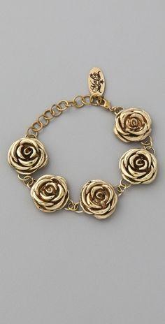 Monserat De Lucca Rose Bracelet thestylecure.com