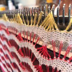 Rainbow knit ⭐️☀️ • • • • • • • #knitwear #knittingmachine #machineknitting #knittersofinstagram #kbknitwear