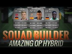 FIFA 14 UT AMAZING OP HYBRID w/ ESSWEIN JESE MLAPA | FIFA 14 MAGIC HYBRI...