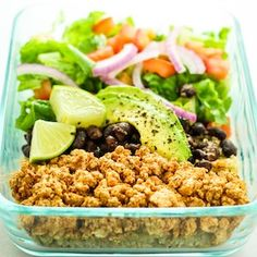 100 Best Meal Prep Recipes #mealprep #healthyrecipes #healthyeating #lunch #recipes Vegetarian Meal Prep, Healthy Meal Prep, Healthy Cooking, Healthy Snacks, Vegetarian Recipes, Healthy Eating, Cooking Recipes, Healthy Recipes, Vegan Meals
