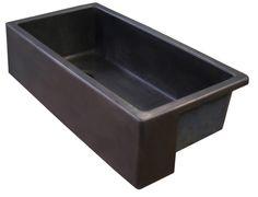 cast iron farmhouse sink