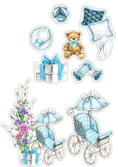 Printable Designs, Printable Stickers, Cute Stickers, Planner Stickers, Scrapbook Bebe, Scrapbook Stickers, Scrapbook Paper, Clipart Baby, Baby Frame