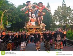 Ogoh-Ogoh Statues, Bali, Indonesia Editorial Photography - Image: 36215627