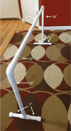 PVC-frame for grow lights