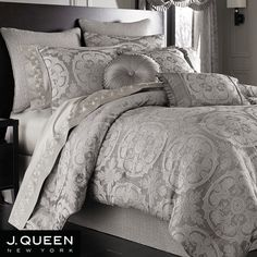 Grey Comforter Sets King Size | luxury gray comforter sets king size