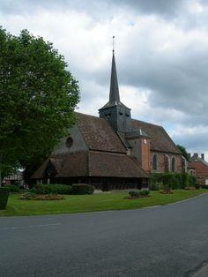 Eglise de Souvigny-en-Sologne et son caquetoire.