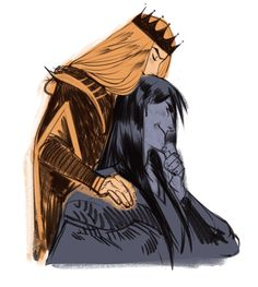 Melkor and sauron by phobbs. Tolkien