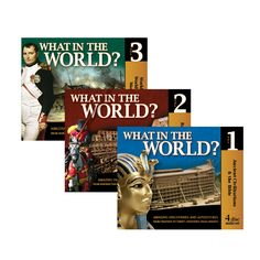 History Audio CDs : CD Combo Pack – What in the World Vol 1, 2, 3
