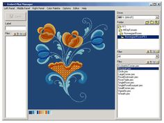 Changing Colors with Embird Software