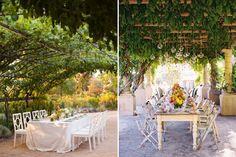 Dining Al Fresco - enjoying a meal outdoors