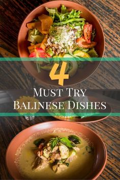 Dining Ubud: Don't miss these 4 fantastically tasty Balinese dishes. Best tried local at our 2 favourite restaurants in Ubud.