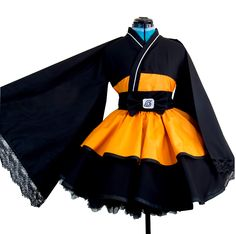Naruto Shippuden Lolita Kimono //Price: $68.99 & FREE Shipping //     #narutouzumaki