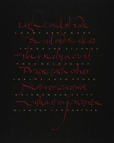 清水裕子 HIROKO SHIMIZU Ying & Yang, 2006 - calligraphy