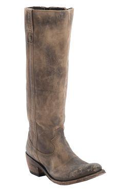 Liberty Black® Ladies America Distressed Tan Round Toe Tall Western Fashion Boots | Cavender's