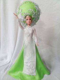 Aodai Vietnam barbie