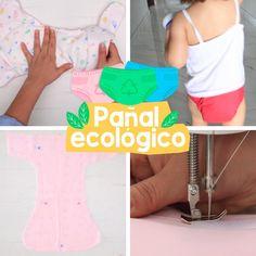 Una de las grandes inversiones que haces desde que nace tu hijo hasta que empieza a avisar que necesita ir al baño son los pañales; no sólo gastas dinero, sino también tiempo, porque debes cuidar que no rocen su piel, que no le causen alergia, etc, etc. Sewing Baby Clothes, Baby Clothes Patterns, Diy Clothes, Sewing Patterns, Baby Sewing Projects, Sewing Tutorials, Sewing Collars, Baby Boy Room Decor, Hand Embroidery Tutorial