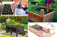 20 idées de jardins surélevés géniaux pour vos plantes