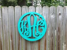 """24"""" Wooden KK Circle Monogram!!! ONLY $50 @ Accent Peace!!!  https://www.facebook.com/pages/Accent-Peace/440140189393948"""