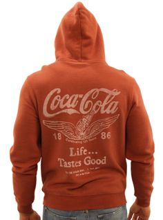 Junk Food vintage style Coca Cola Hoody