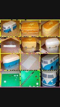 New Cupcakes Fondant Decoration Design Cake Tutorial Ideas Decoration Patisserie, Dessert Decoration, Decoration Cupcakes, Decoration Design, Fondant Cupcakes, Cupcake Cakes, Fondant Cake Tutorial, Camper Cakes, Hippie Cake