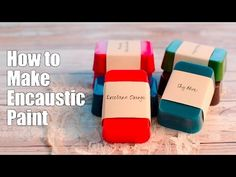 How to Make Encaustic Paint - YouTube