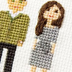 Some details of the couple portrait a post back.A dress was a little metallic in the picture, so we decided to add some metallic thread in its cross stitched version too. #familylife #familyportrait #giftideas #mylove #fam #etsy #myfamily #portrait #myfam #familyphoto #gifts #happilyeverafter #secondhalf #otherhalf #my❤ #familygoals #lovebirds #families #couplegoals #mylittlefamily #husbandandwife #mywife #priceless #couples #myeverything #preciousmoments #myhusband #sweetheart #myman ...